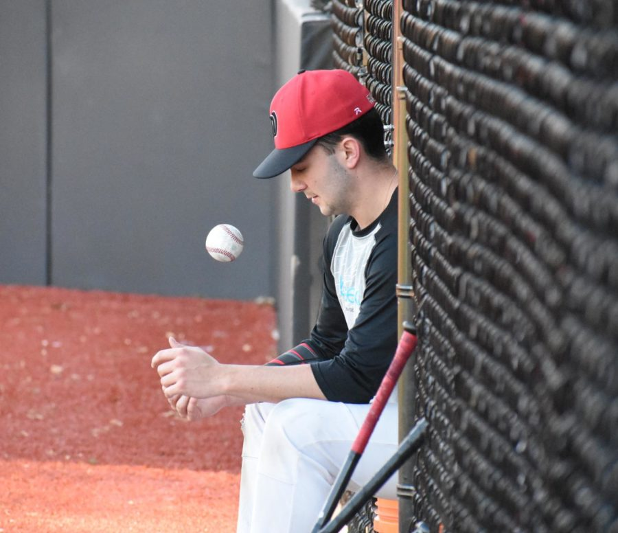 The+Watertown+High+School+baseball+team+is+hoping+some+magic+will+happen+this+spring.+Photo+by+Elizabeth+Allen%2F+Raider+Times+%28Watertown+High%29